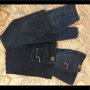 American Eagle and Express Skinny Jeans